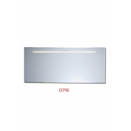 Spiegel 100x44 cm 078 Led verlichting