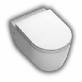 Wandcloset Sanitrend 54x35 cm met softclose zitting wit 2.17034.6