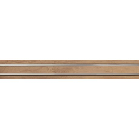 Wandtegels 10,5x75 cm Terra Bruin decortegels