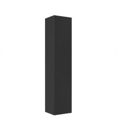 Hoge kast Kubiko 160x35x30 cm antraciet hoogglans gelakt