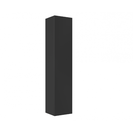 Hoge kast Notti 160x35x30 cm antraciet hoogglans gelakt