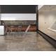 Plint 7,2x75 cm Trakt Ombergrijs mat natuursteenlook