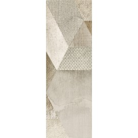 Wandtegels 20x60 cm Attiya Beige Decor B mat