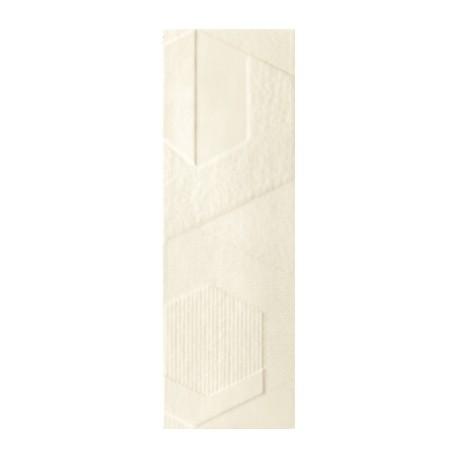 Wandtegels 20x60 cm Attiya Beige structuur mat