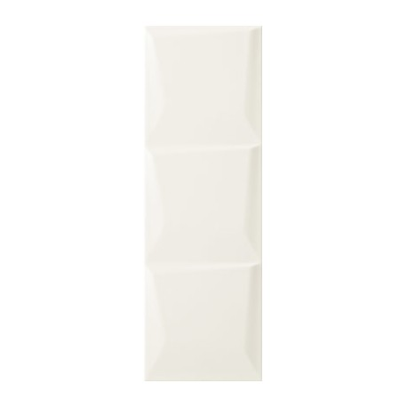 Wandtegels 20x60 cm Maloli wit structuur C glans