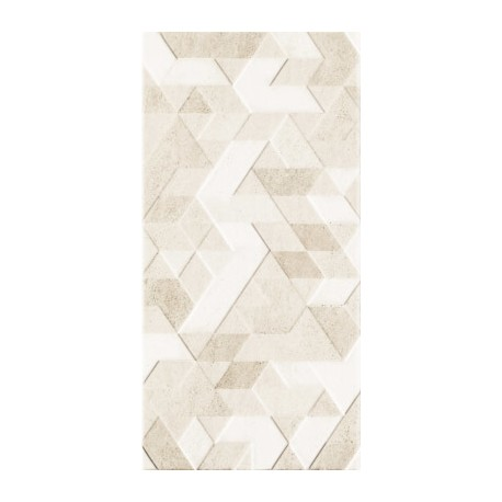 Wandtegels 30x60 cm Emilly Beige structuur decor mat
