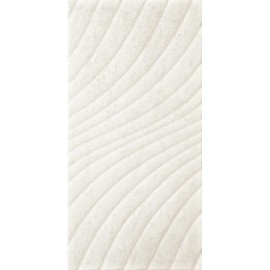 Wandtegels 30x60 cm Emilly Bianco structuur mat