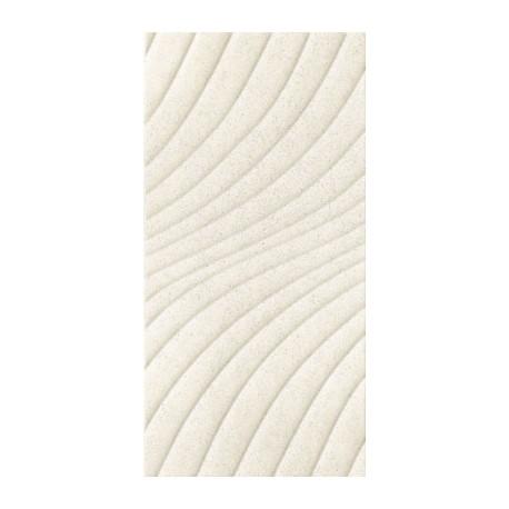Wandtegels 30x60 cm Emilly Crème structuur mat
