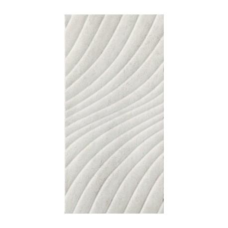 Wandtegels 30x60 cm Emilly Grijs structuur mat