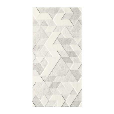 Wandtegels 30x60 cm Emilly Grijs structuur decor mat