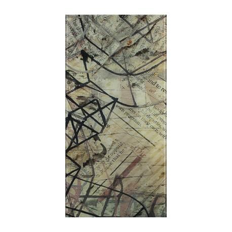 Wandtegels 30x60 cm Ermeo Decor B Glas