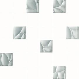 Mozaiek 30x30 cm Esten wit zilver