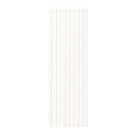 Wandtegels 25x75 cm Elanda Wit Structuur Stripes mat