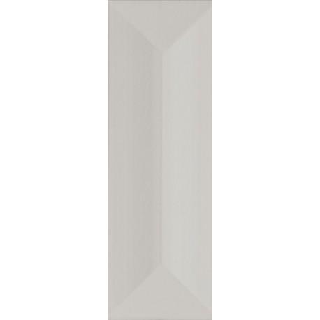 Wandtegels 10x30 cm Favaro Grijs mat structuur
