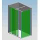 T-stabilisatiestang 200 cm zilver glans Sanitrend 1644922