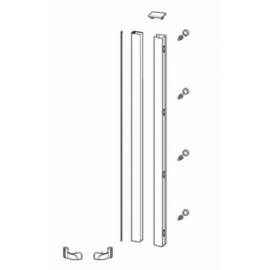 Aanslagprofiel voor installatie nisopstelling zilver glans Sanitrend 1798772