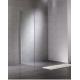 Inloopdouche zijwand 40x200 cm Walk-in Sanitrend 1559232