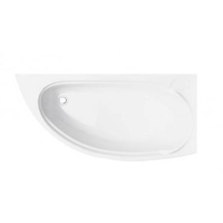 Hoekbad 150x70 cm Rechts acryl BG-10 asymmetrisch
