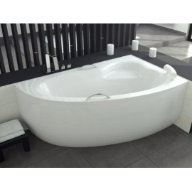 Hoekbad 150x100 cm Rechts acryl BG-18 asymmetrisch