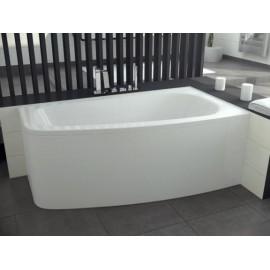 Hoekbad 150x80 cm Rechts acryl BG-19 asymmetrisch
