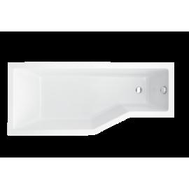 Ligbad 150x75 cm links BG-42 asymmetrisch