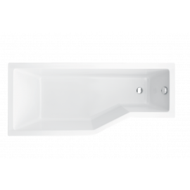 Ligbad 170x75 cm links BG-42 asymmetrisch