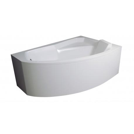 Badpaneel voor hoekbad 130x85 cm BG-106 Rechts
