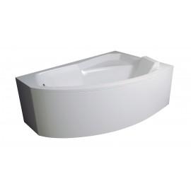 Badpaneel voor hoekbad 160x100 cm BG-106 Rechts