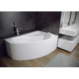 Hoekbad 150x95 cm Rechts acryl BG-106 asymmetrisch
