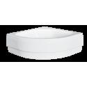 Paneel voor douchebak 80x80x28,5 cm BG-27 acryl wit