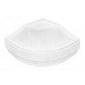 Paneel voor douchebak 80x80 cm BG-28 acryl wit