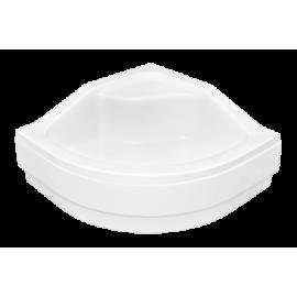 Paneel voor douchebak 90x90 cm BG-28 acryl wit