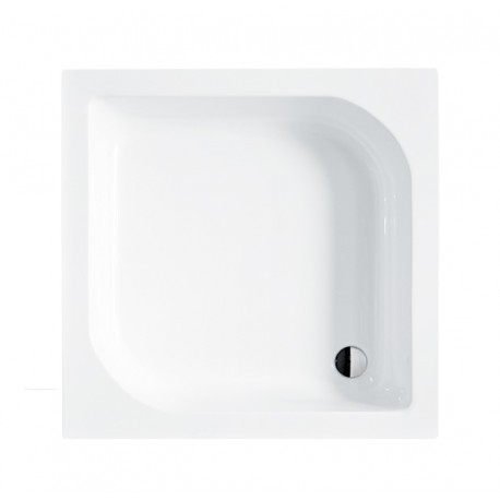 Douchebak 70x70x28,5 cm vierkant BG-32 acryl wit