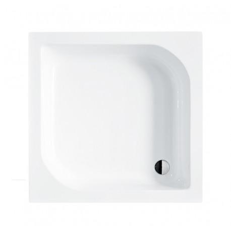 Douchebak 80x80x28,5 cm vierkant BG-32 acryl wit