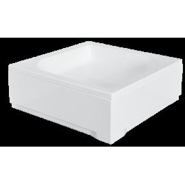 Paneel voor douchebak 80x80x28,5 cm vierkant BG-32 acryl wit