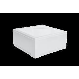 Paneel voor douchebak 80x80x38,5 cm vierkant BG-33 acryl wit