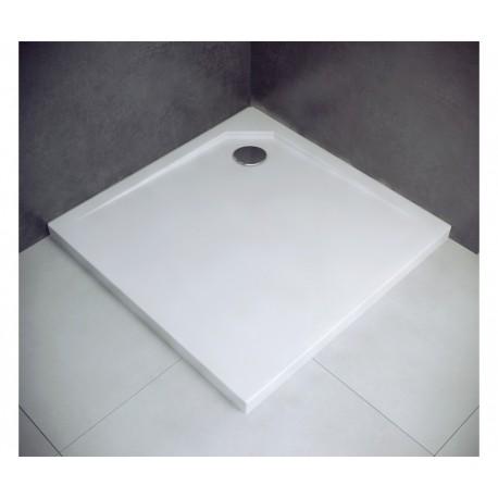 Douchebak 90x90x3,5 cm mineraalsteen BG-84