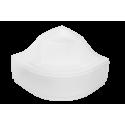 Voorpaneel voor douchebak BG-99 acryl wit 80x80x31,5 cm