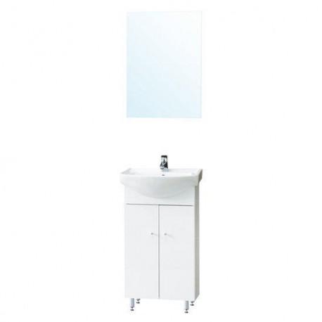 Badkamermeubel Mykonos 50 cm met spiegel KB