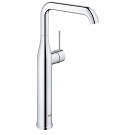 Grohe Essence New wastafelkraan XL met hoge draaibare uitloop met gladde body EcoJoy met 28mm cartouche chroom 32901001
