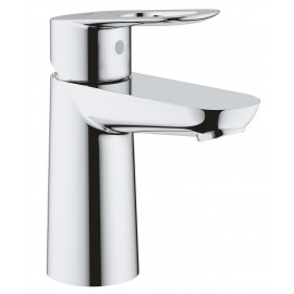 Grohe Bau Loop wastafelkraan met gladde body met open greep chroom 23337000