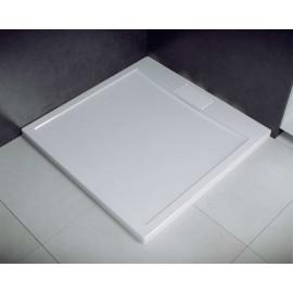 Douchebak 80x80x4,5 cm met sifon BG-132 acryl