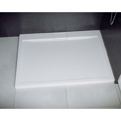 Douchebak 120x80x4,5 cm met sifon BG-132 acryl