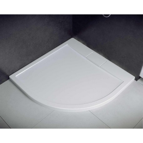 Douchebak 90x90x4,5 cm met sifon BG-133 acryl kwartrond
