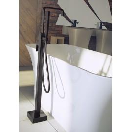 Vrijstaande badkraan zwart mat BG-117