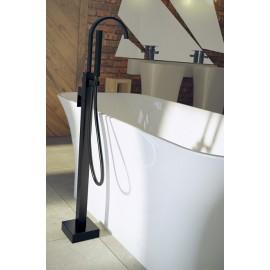 Vrijstaande badkraan zwart mat BG-118