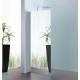 Inloopdouche 100x200 cm Walk In Sanitrend spiegelglas 8 mm met stabilisatiestang 1237842.1211222