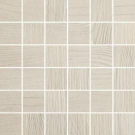 Houtlook mozaiek 30x30 cm Thorno Bianco mat