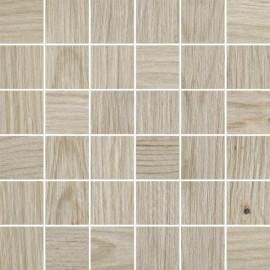 Houtlook mozaiek 30x30 cm Thorno Beige mat