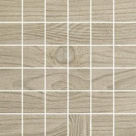 Houtlook mozaiek 30x30 cm Thorno Brown mat